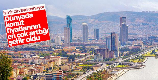 Konut fiyatlarının en çok arttığı ikinci şehir İzmir