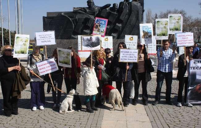 Gaziantep'te havanlar için düdüklü protesto