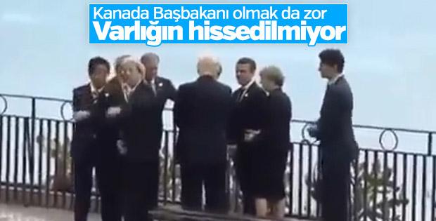 Trudeau, G7'ye 'yaklaşamadı'