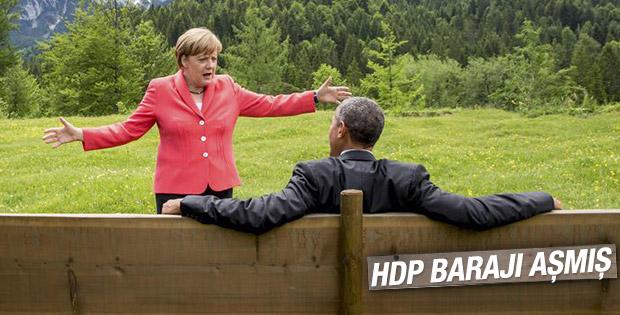 G7'den dikkat çeken kareler