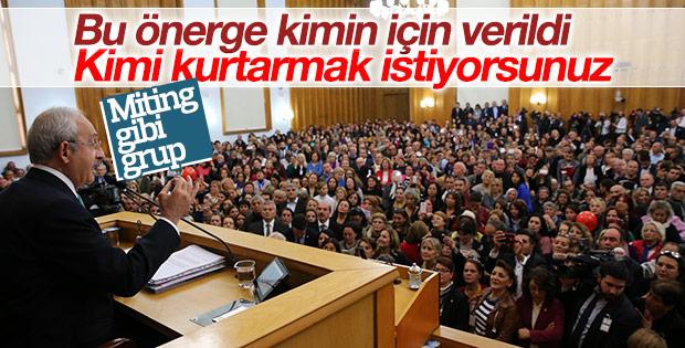 Kılıçdaroğlu'nun grup toplantısı konuşması