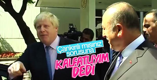 Boris Johnson nerelisiniz sorusunu cevapladı