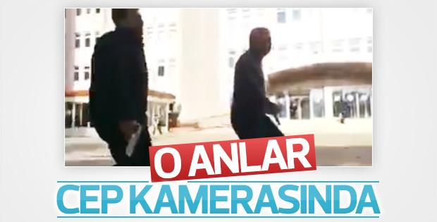 Gaziantep'te çatışma sırasında yaşananlar kamerada