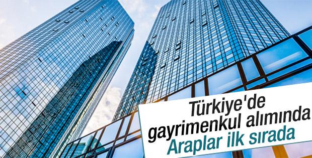 Araplar Türkiye'deki gayrimenkul alımında önde
