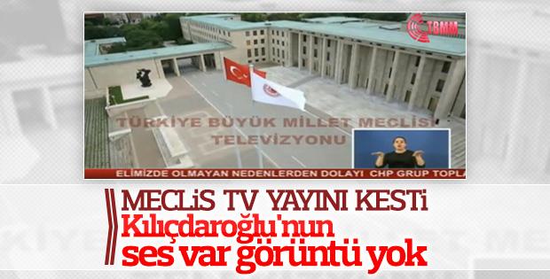 Kılıçdaroğlu'ndan Meclis TV tepkisi