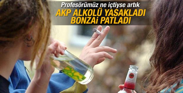 Prof. Ayhan Aktar: Alkol yasağı bonzaiyi patlattı