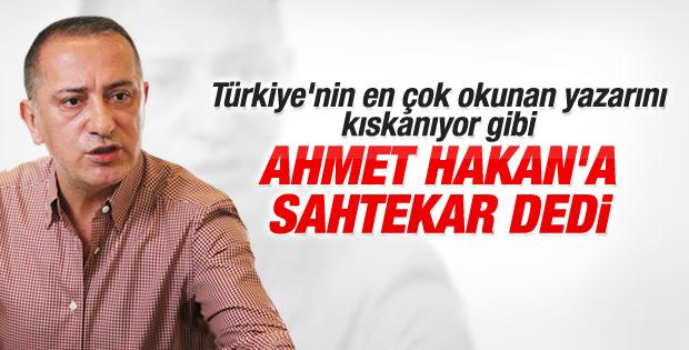 Fatih Altaylı'dan Ahmet Hakan'a twitter eleştirisi