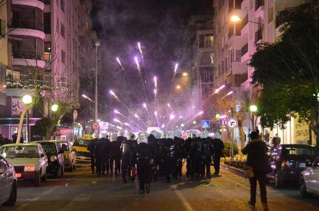İzmir'de izinsiz gösteri: 22 gözaltı