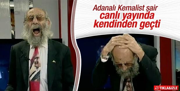 Adanalı Ercan Kont'un cinnet performansı - VİDEO