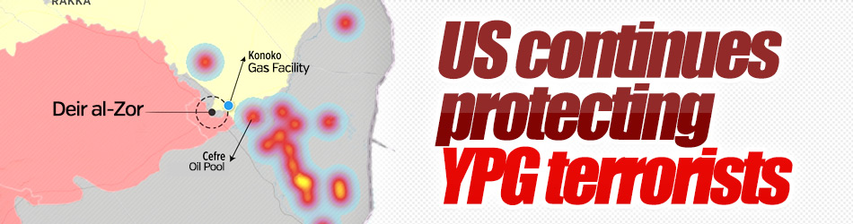 US continues protecting YPG terrorists