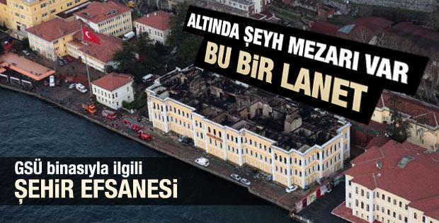 Galatasaray Üniversitesi yangını bir lanet mi
