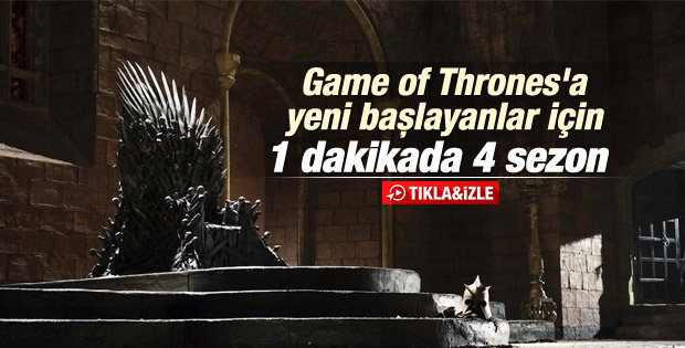 Game of Thrones 5. sezon ilk fragman