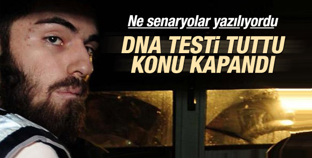 Cem Garipoğlu'nun DNA analiz sonuçları