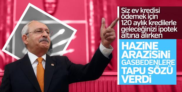 Kılıçdaroğlu Pendik'teki kaçak evler için tapu sözü verdi