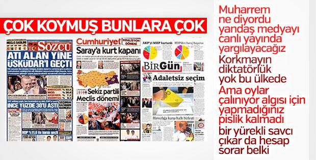 25 Haziran gazete manşetleri