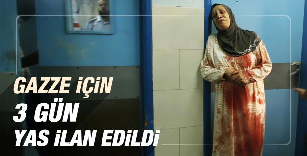 Gazze için Türkiye'de 3 gün yas ilan edildi