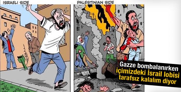 İsrail Gazze'yi böyle bombaladı