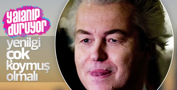 Geert Wilders'in seçim sonuçlarını öğrendiği an