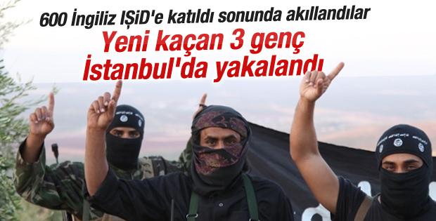 IŞİD'e katılmak isteyen 3 İngiliz İstanbul'da yakalandı
