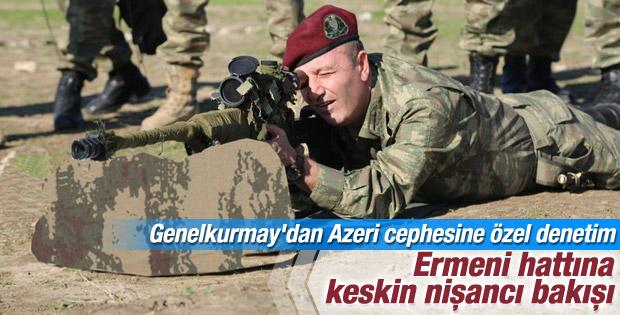 Genelkurmay Özel Kuvvetler Komutanı Azeri cephesinde