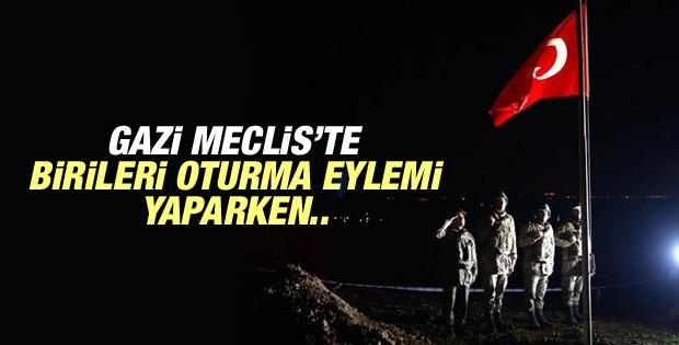 Genelkurmay: Türbe Eşme Köyü'ne nakledildi bayrak dikildi