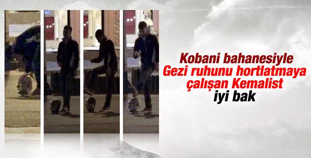 Diyarbakır'da Atatürk büstüne çirkin saldırı