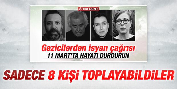 Gezi Parkı'nda 8 kişi gözaltına alındı