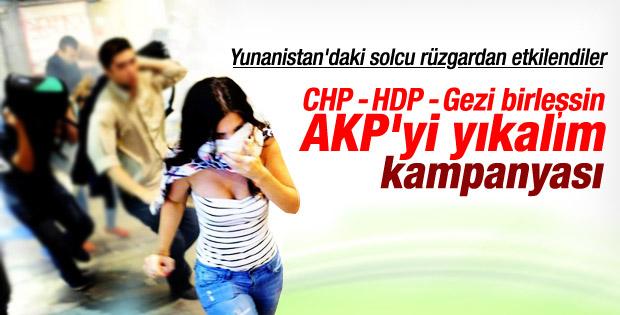 CHP HDP ve BHH AK Parti'ye karşı ittifak olsun kampanyası