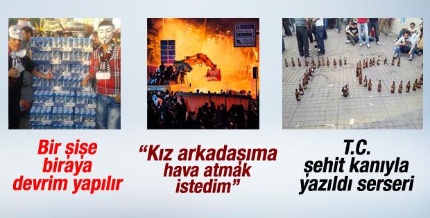 Gezi'de şaka yapıyorduk savunması