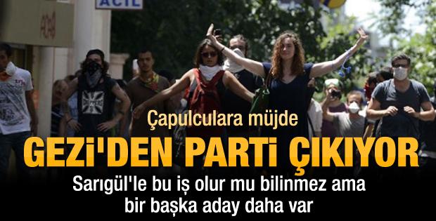 Sermaye grupları Gezi'den parti çıkarıyor