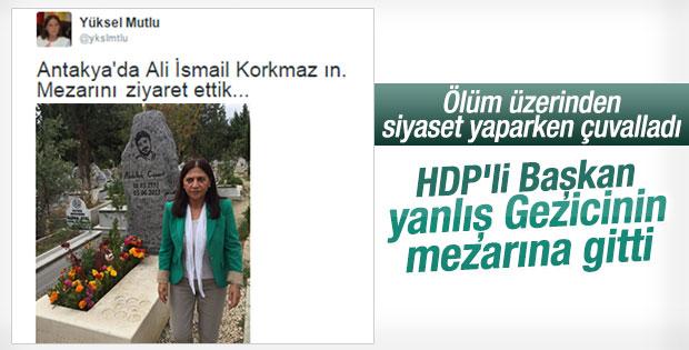 HDP'li Başkan Gezicileri karıştırdı