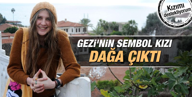 Gezi'nin kırmızı fularlı kızı PKK'ya katıldı