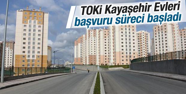TOKİ Kayaşehir Evleri başvuru süreci başladı
