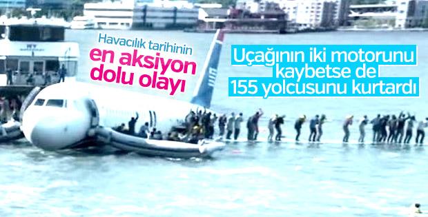155 kişiyi nehre indiren pilot: Sully