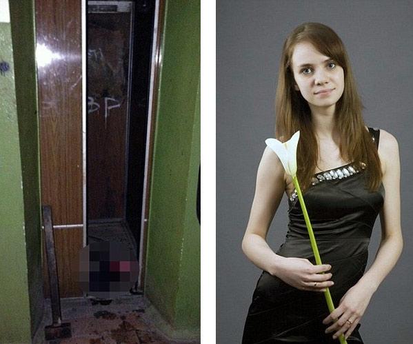 Rusya'da asansörde sıkışan kadın can verdi