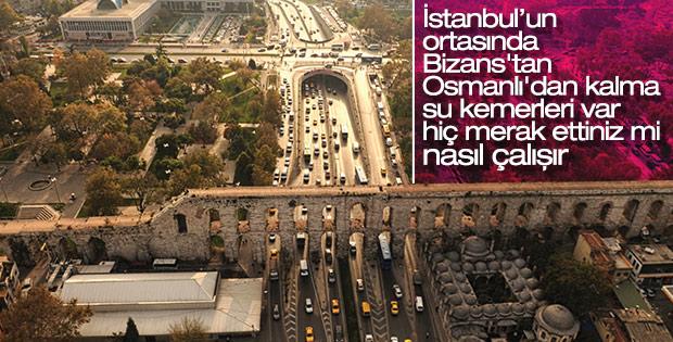 Roma'dan İstanbul'a uzanan su kemerleri
