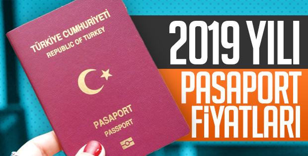 2019 yılı pasaport harç ve bedelleri