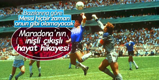 Dünyanın en iyi futbolcularından biri: Maradona