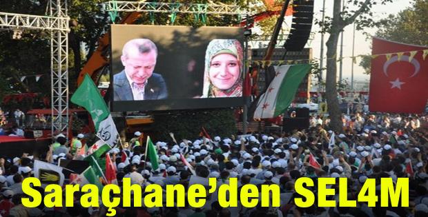 Saraçhane'den Suriye'ye ve Mısır'a selam