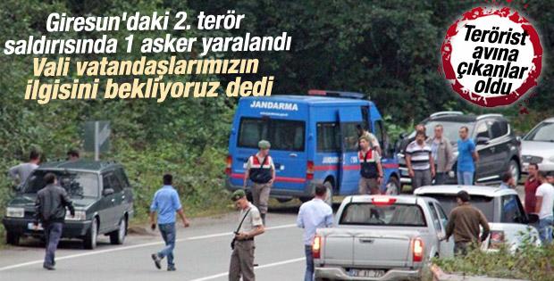 Giresun'da jandarma aracına ateş açıldı