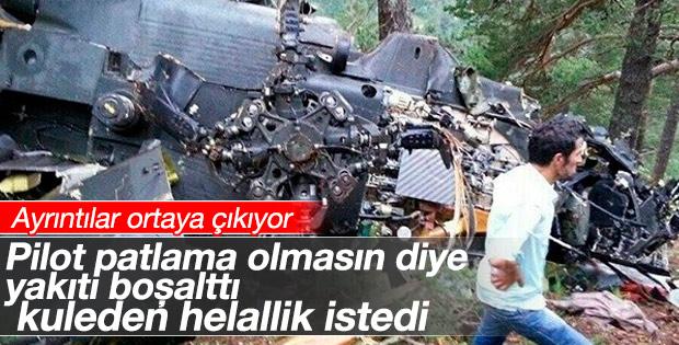 Giresun'daki helikopter kazasının ayrıntıları