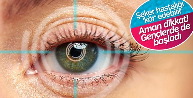 Diyabet göz hastalıklarını tetikliyor