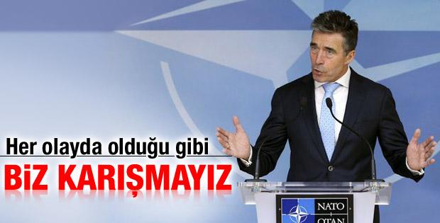 Türkiye'nin Irak'a müdahalesi NATO'yu ilgilendirmiyor
