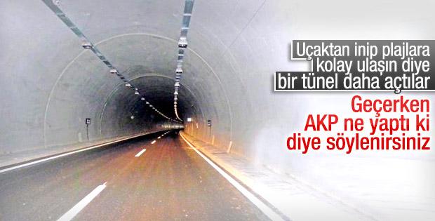İkinci Göcek Tüneli açılıyor