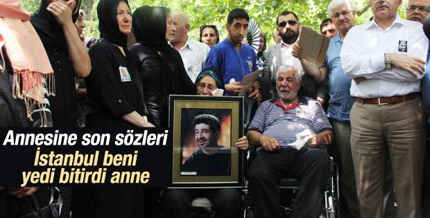 Göğebakan annesine dert yanmış: Bu İstanbul beni bitirdi İZLE