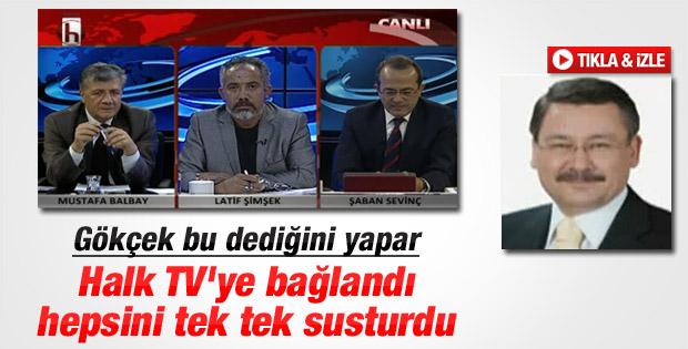 Melih Gökçek Halk TV'de canlı yayına katıldı