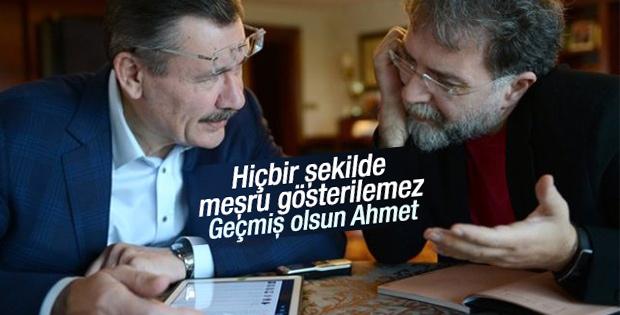 Melih Gökçek Ahmet Hakan'a yapılan saldırıyı kınadı
