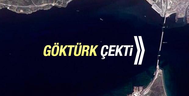 Göktürk-2'nin objektifinden İzmit Körfez Geçiş Köprüsü