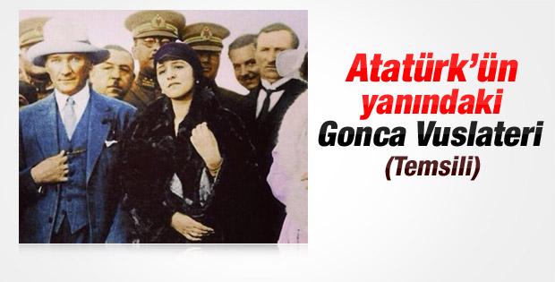 Gonca Vuslateri'nin Latife Hanım'a olan benzerliği