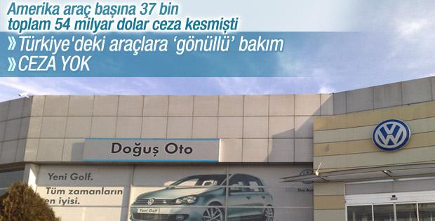 Türkiye'deki 323 bin 977 Volkswagen geri çağrılacak
